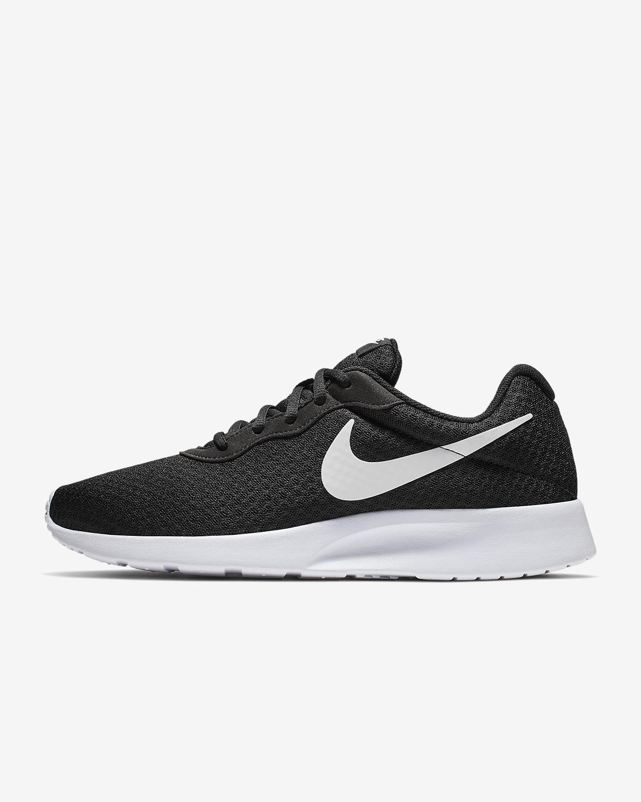 Nike Tanjun Se Siyah Beyaz Erkek Sneaker Ayakkabı
