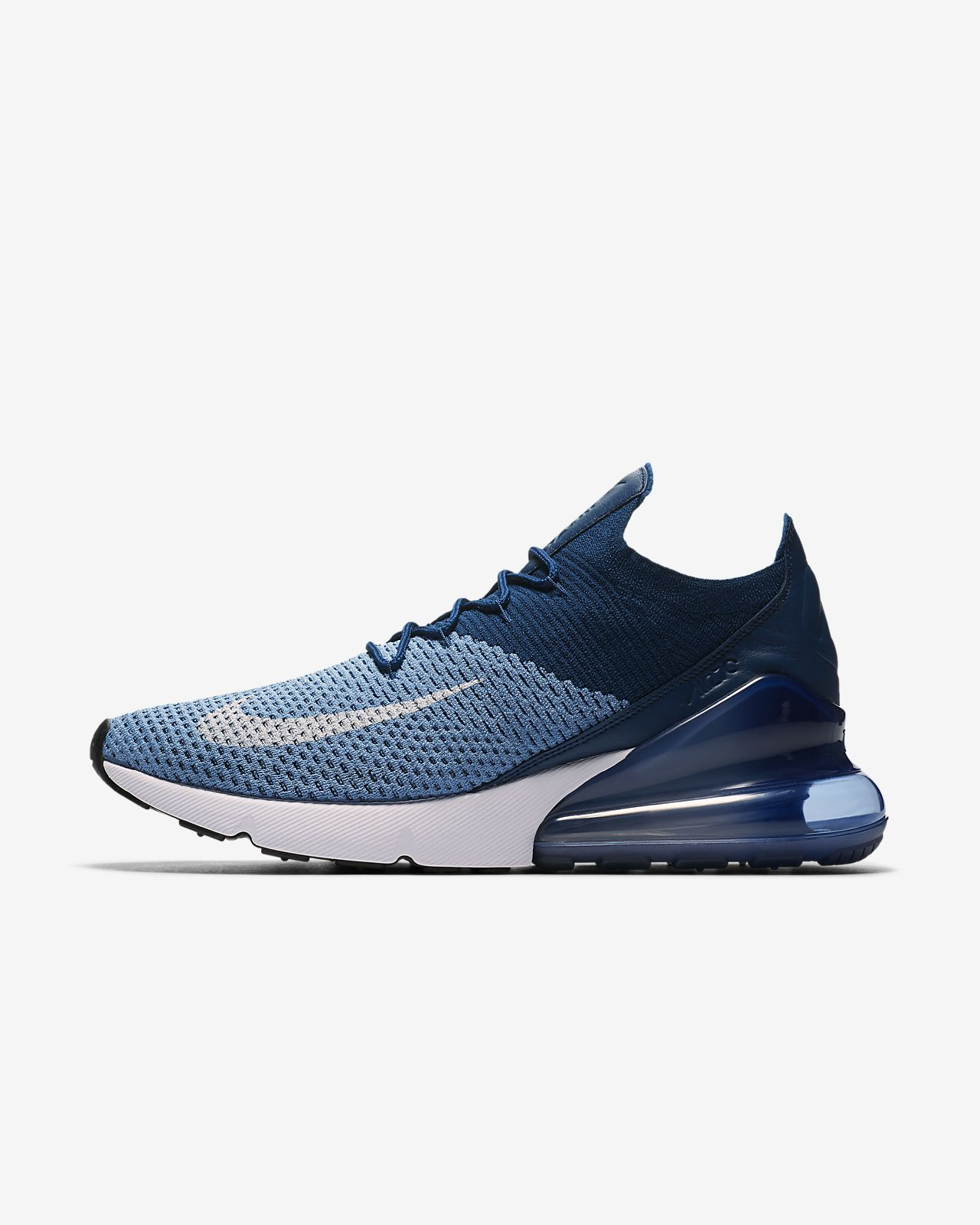 Nike Air Max 270 Flyknit Blanche Air Max 270 Pour Homme