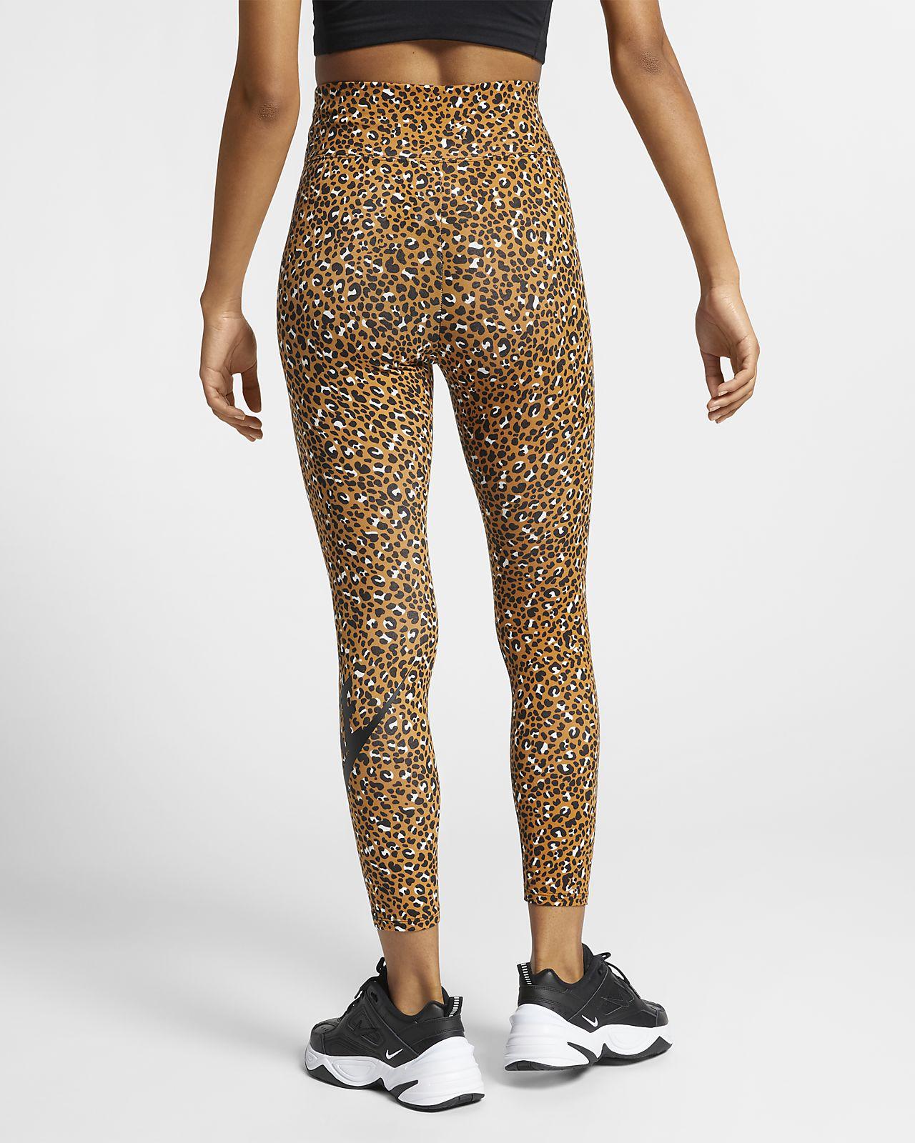 e4386aefa2 Nike Sportswear Animal Print Women's Leggings