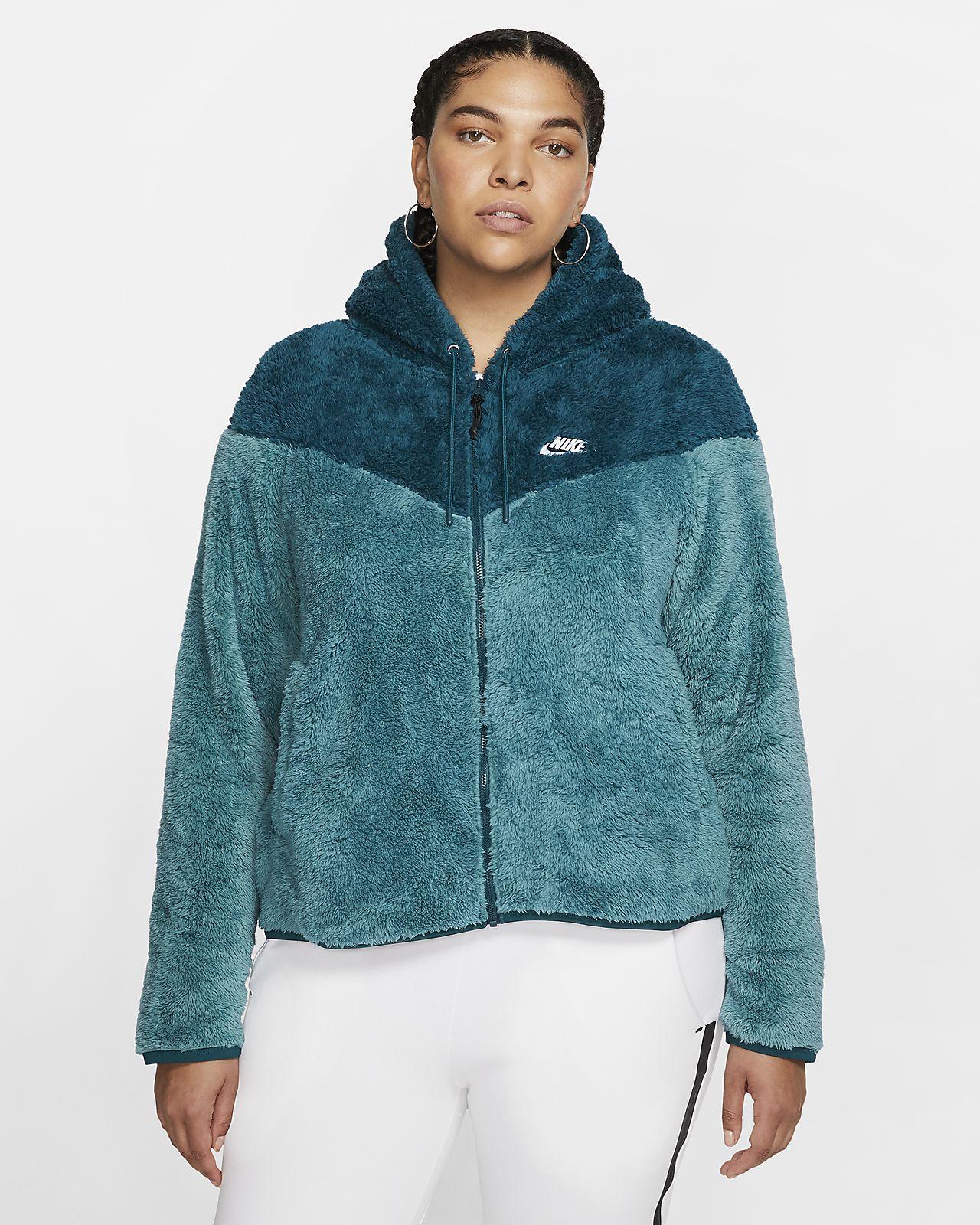 Nike Sportswear Windrunner Women's Sherpa Jacket (Plus Size)