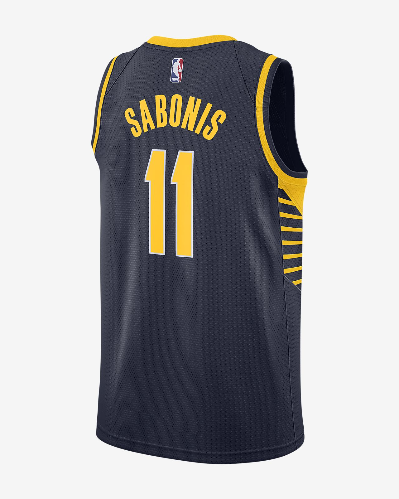 a748ed2bad4 ... Domantas Sabonis Icon Edition Swingman Jersey (Indiana Pacers) Men s  Nike NBA Connected Jersey