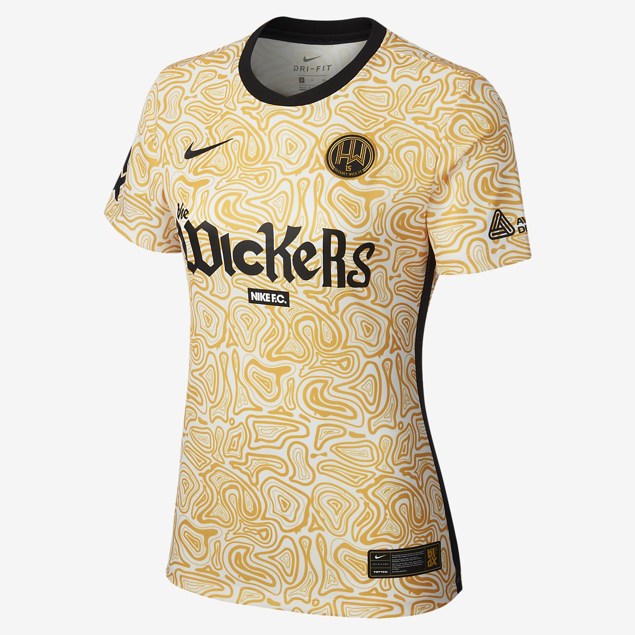 Maillot de football Hackney Wick FC Away pour Femme