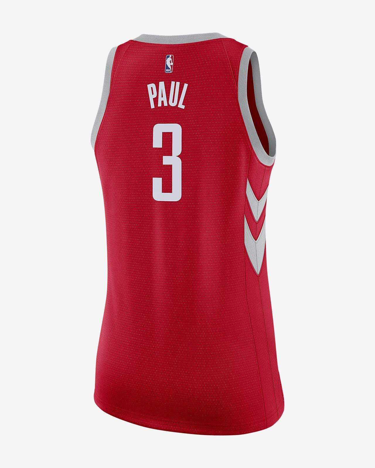 f0529c0f005d ... Chris Paul Icon Edition Swingman (Houston Rockets) Women s Nike NBA  Connected Jersey