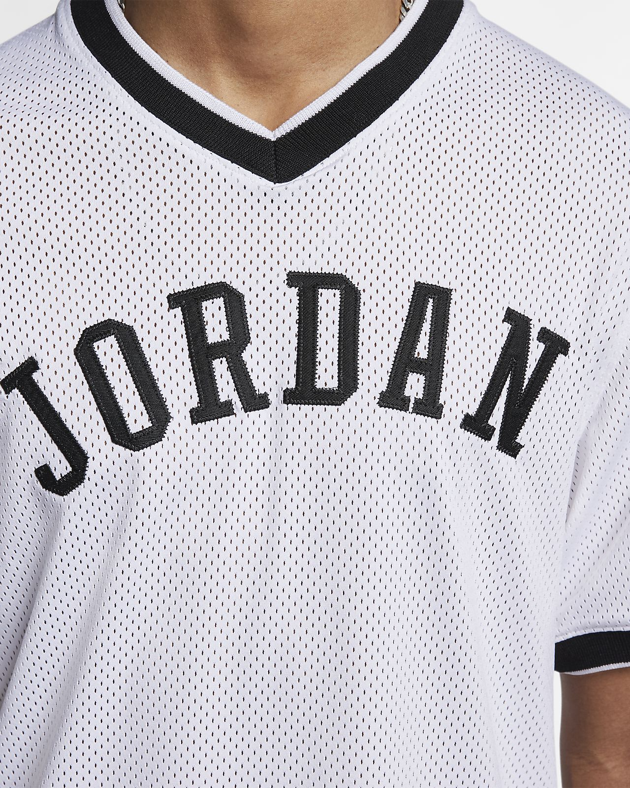 bbdebdf729e587 Jordan Jumpman Air Mesh Men s Basketball Jersey. Nike.com NZ
