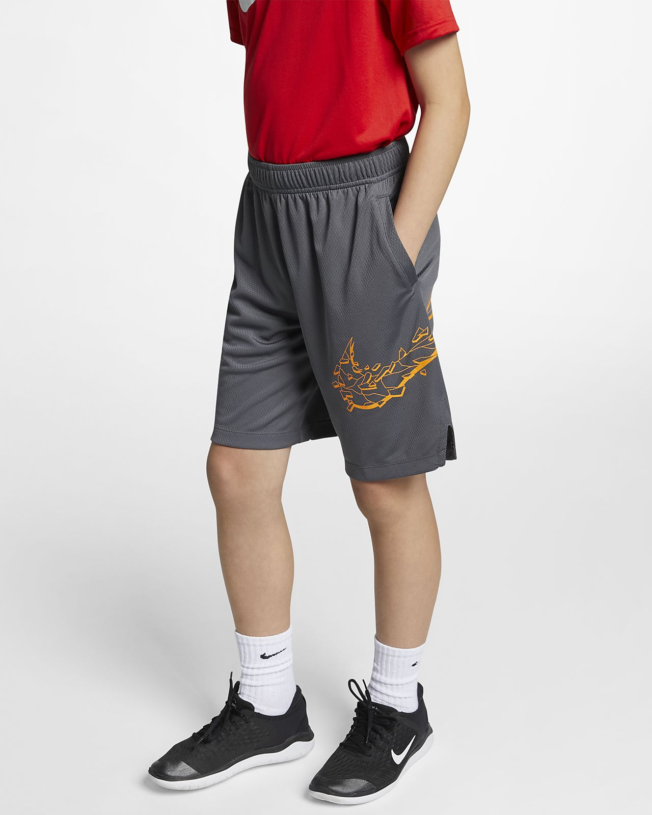 Shorts da training con grafica Nike Dri-FIT - Ragazzo
