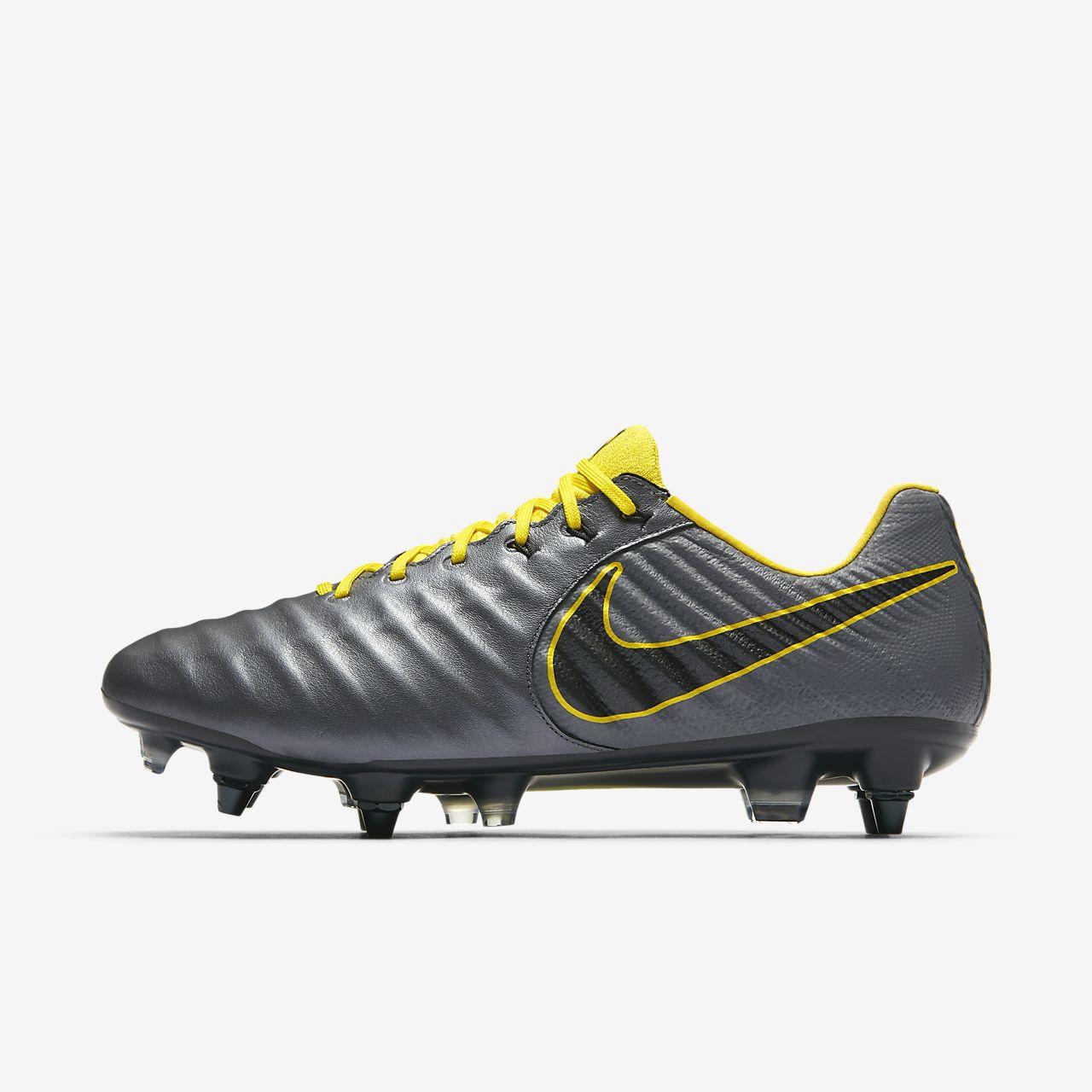 outlet store 1a6b8 e1b68 ... Chaussure de football à crampons pour terrain gras Nike Tiempo Legend  VII Elite SG-Pro