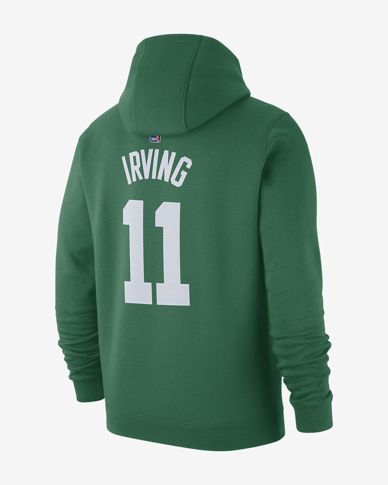 świetna jakość nowe tanie sklep Męska bluza z kapturem NBA Kyrie Irving Boston Celtics Nike