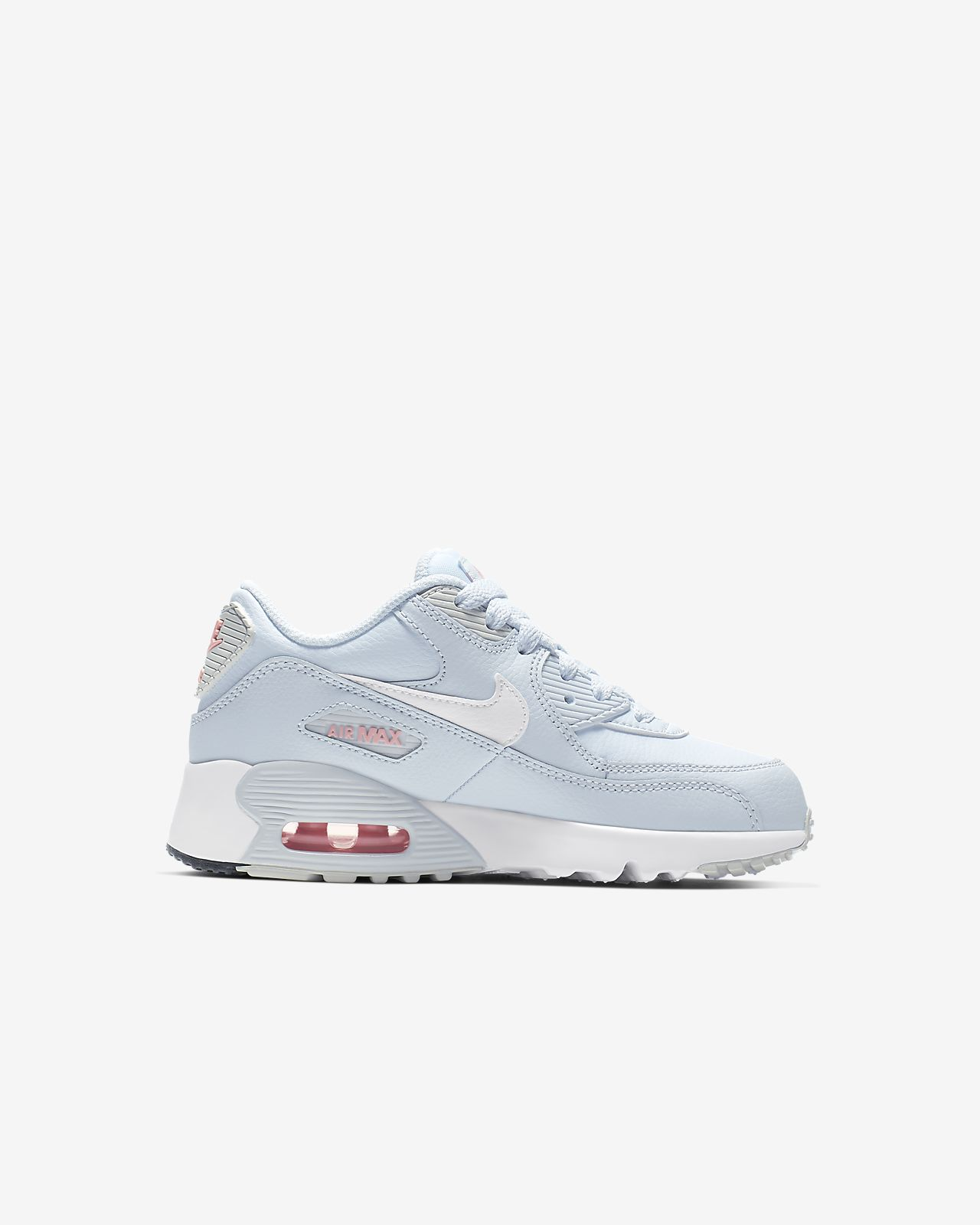 593344a2b7d2 Nike Air Max 90 Leather Little Kids  Shoe. Nike.com