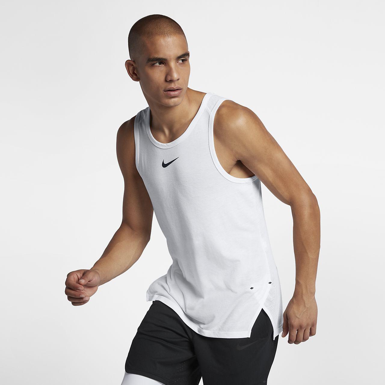 Nike Breathe Elite 男款無袖籃球上衣