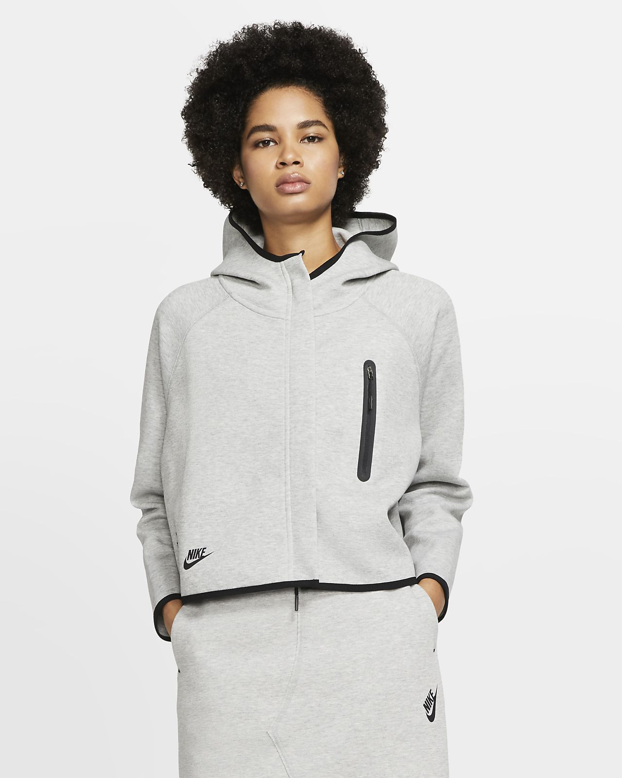 felpa nike tech fleece donna