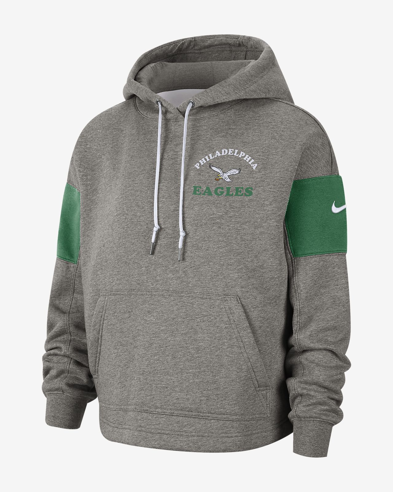 best sneakers a7f07 90291 Nike Historic (NFL Eagles) Women's Pullover Hoodie