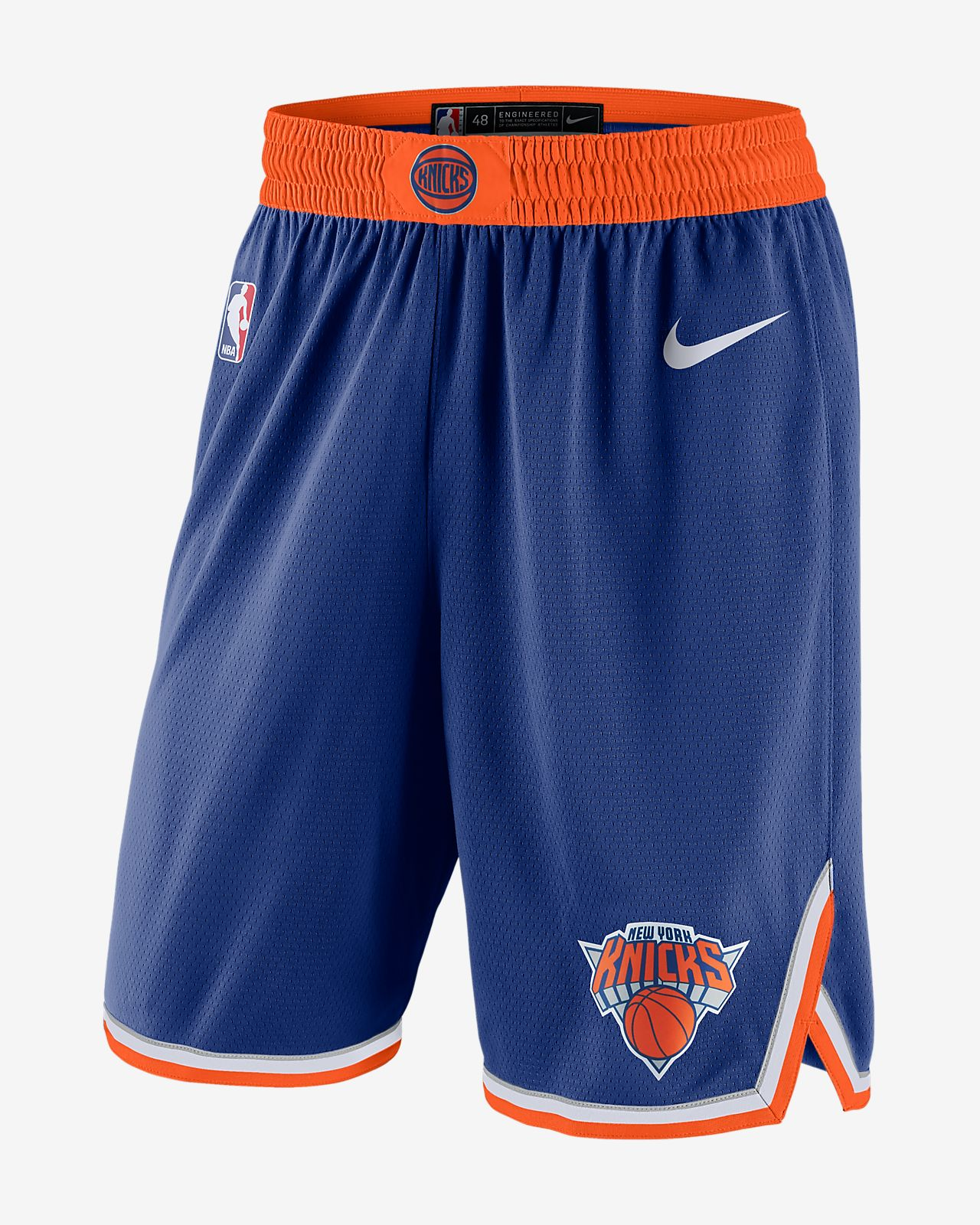b29dbb0e2 New York Knicks Icon Edition Swingman Men s Nike NBA Shorts. Nike.com