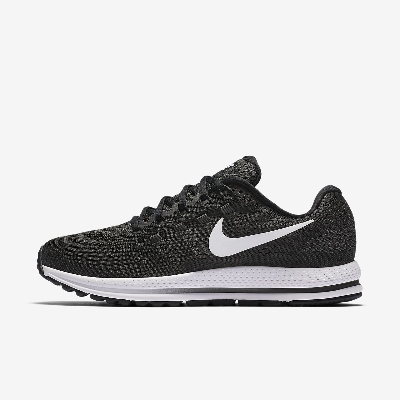 nike free 5.0 black/white/anthracite/grey nike zoom vamero 11