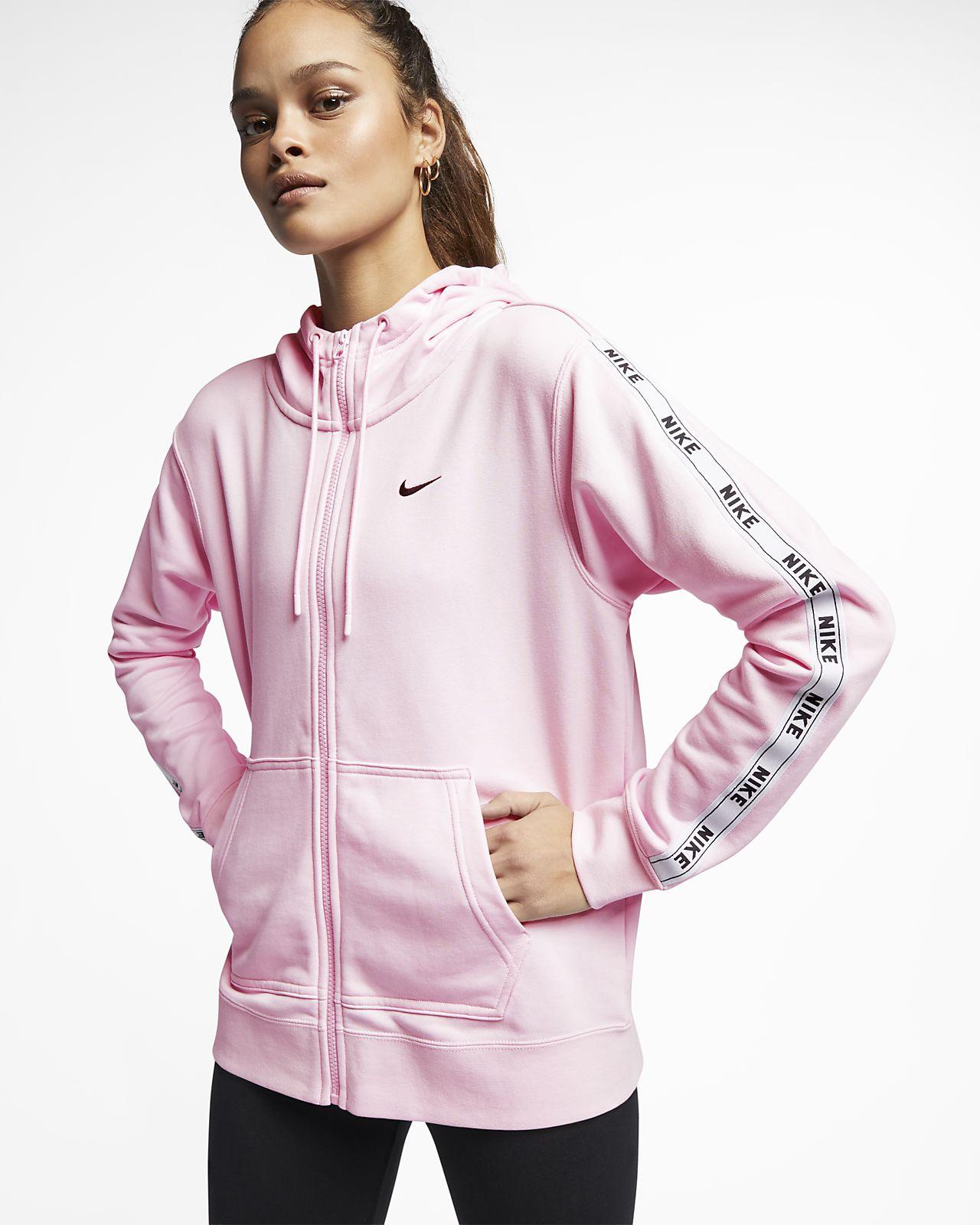 Womens Clothing Nike Sportswear Womens Logo Tape Hoodie
