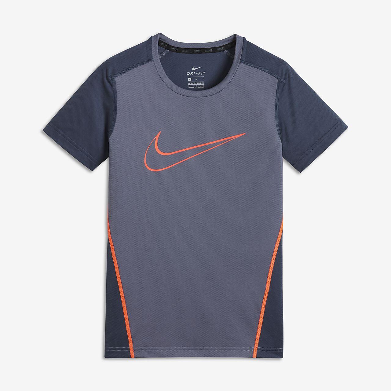 ... Nike Dri-FIT Camiseta de entrenamiento de manga corta - Niño