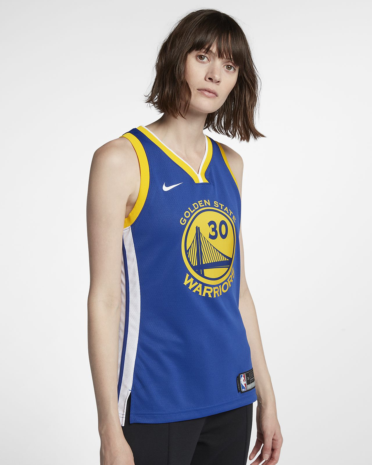 Stephen Curry Icon Edition Swingman (Golden State Warriors) Nike NBA Connected Trikot für Damen