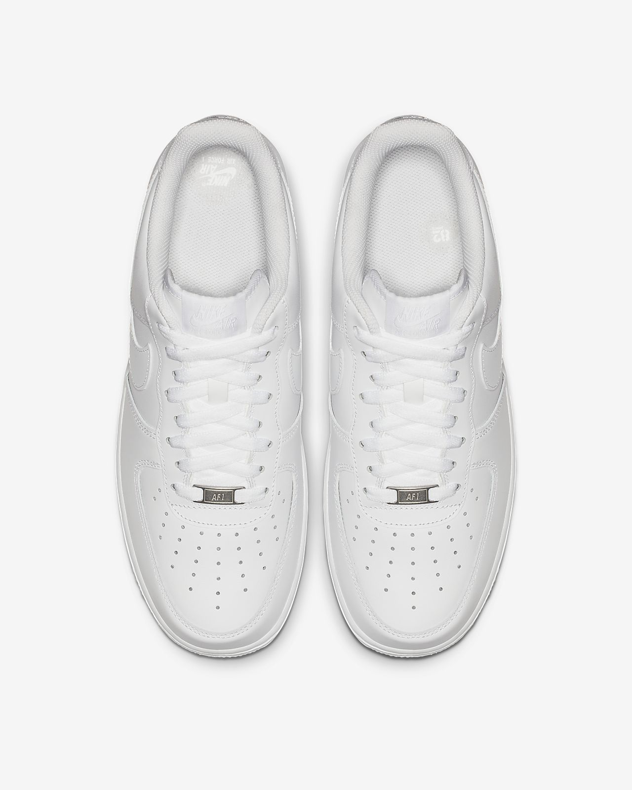2019 Cheap Nike Air Force 1 07 3 White Black Shoes To Buy