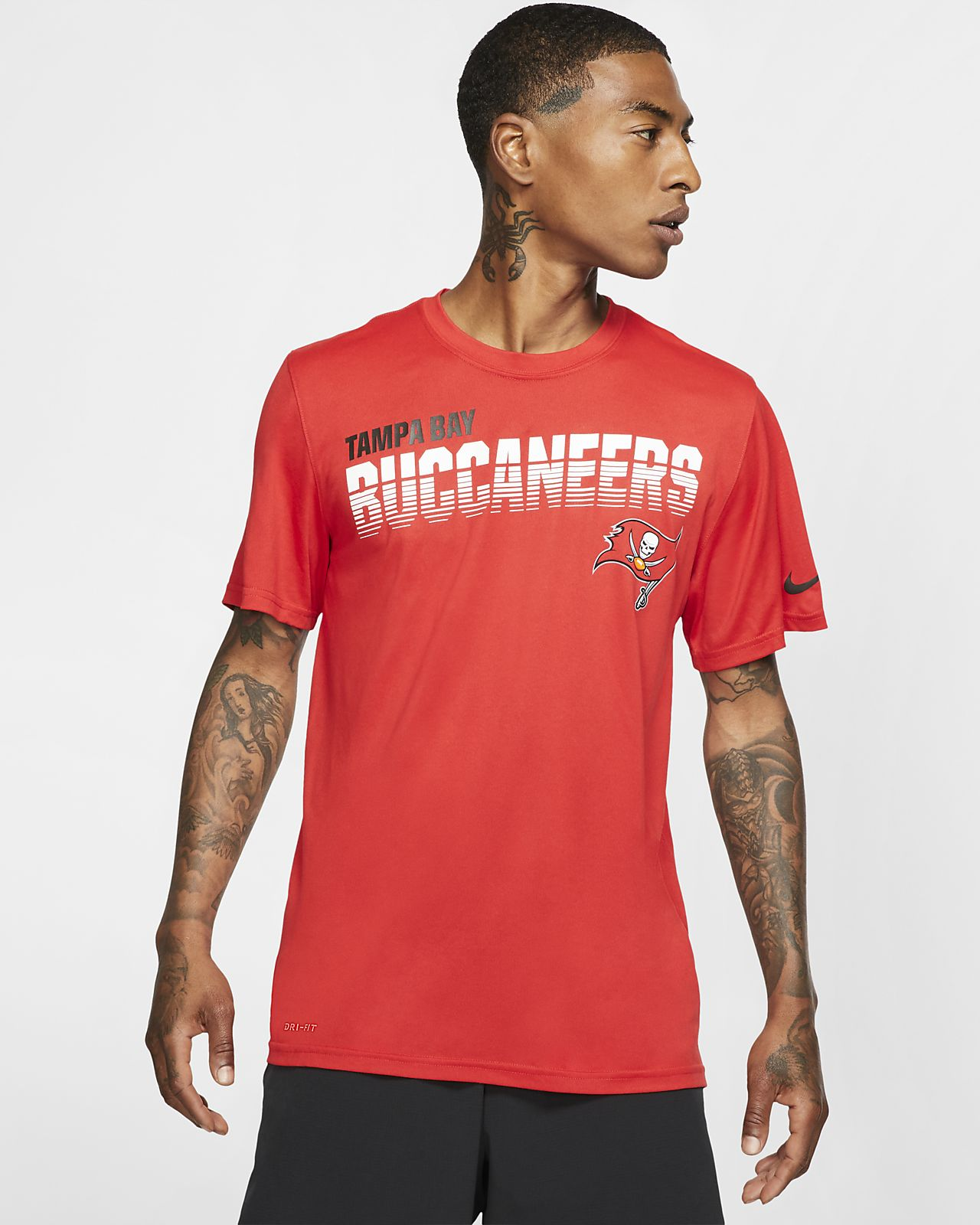 Nike Legend (NFL Buccaneers) Men's Long-Sleeve T-Shirt