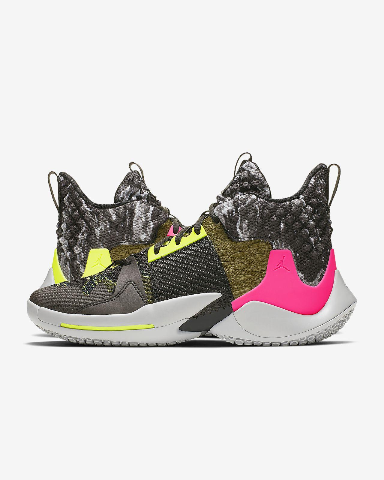 """74fd9fcc Баскетбольные кроссовки Jordan """"Why Not?"""" Zer0.2. Nike.com RU"""