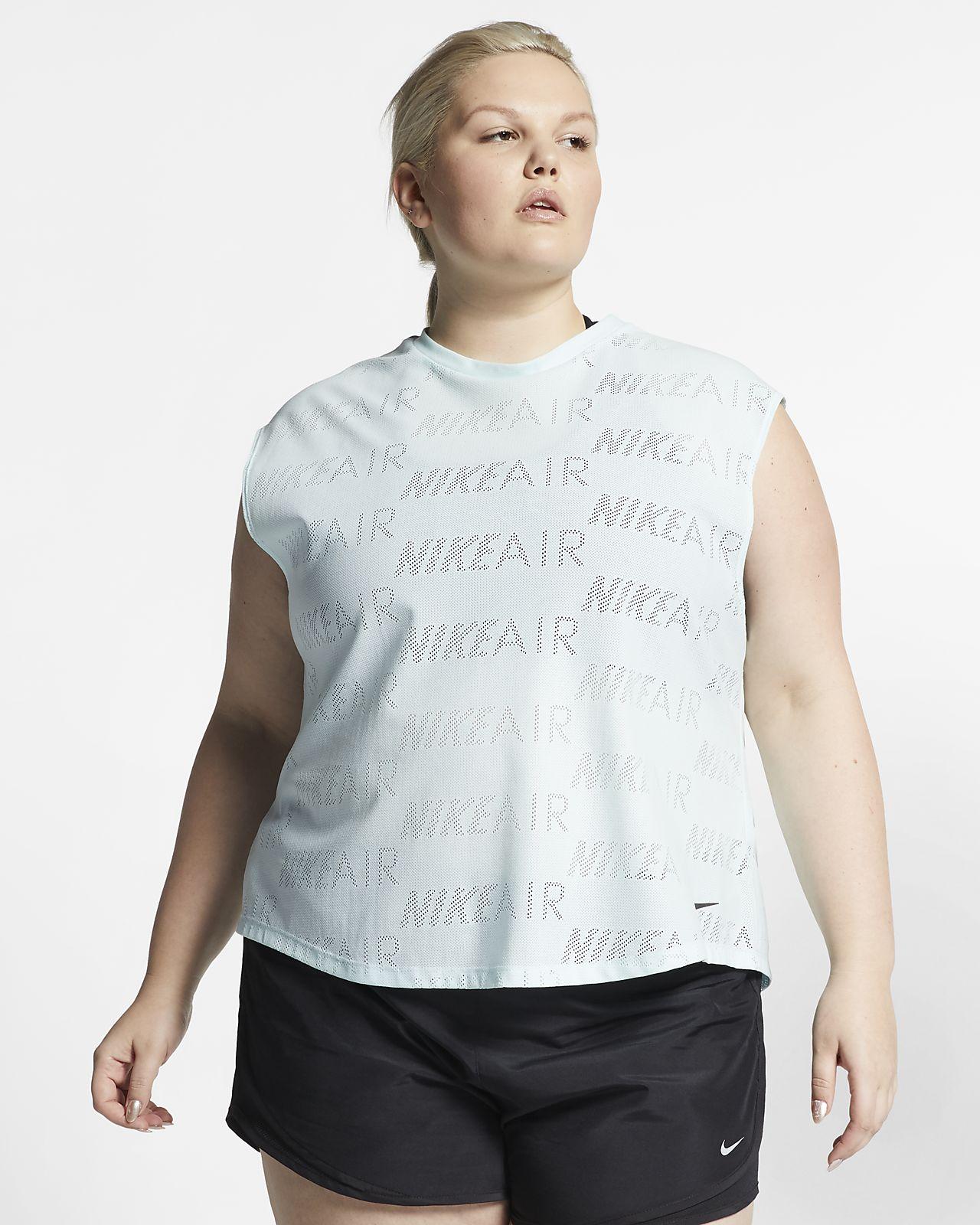Top da running a manica corta Nike Air (Plus Size) - Donna