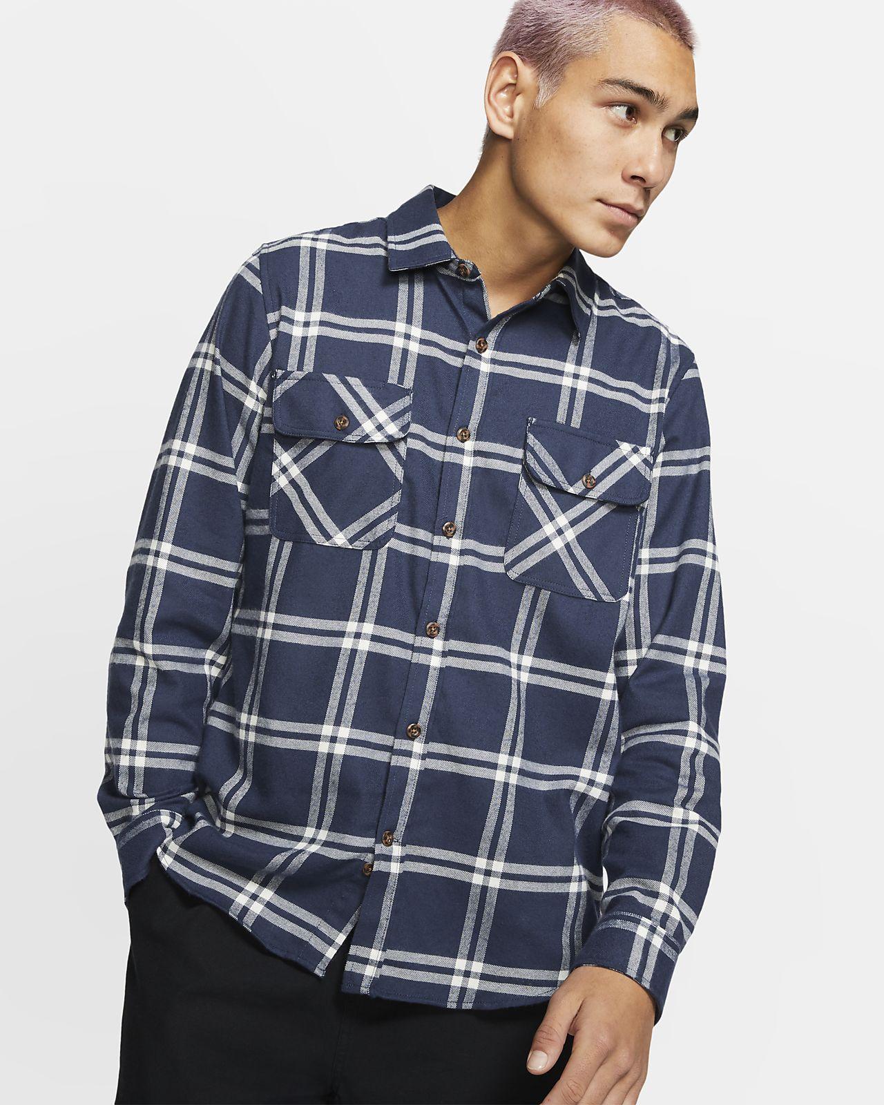 Långärmad tröja Hurley Dri-FIT Salinger för män
