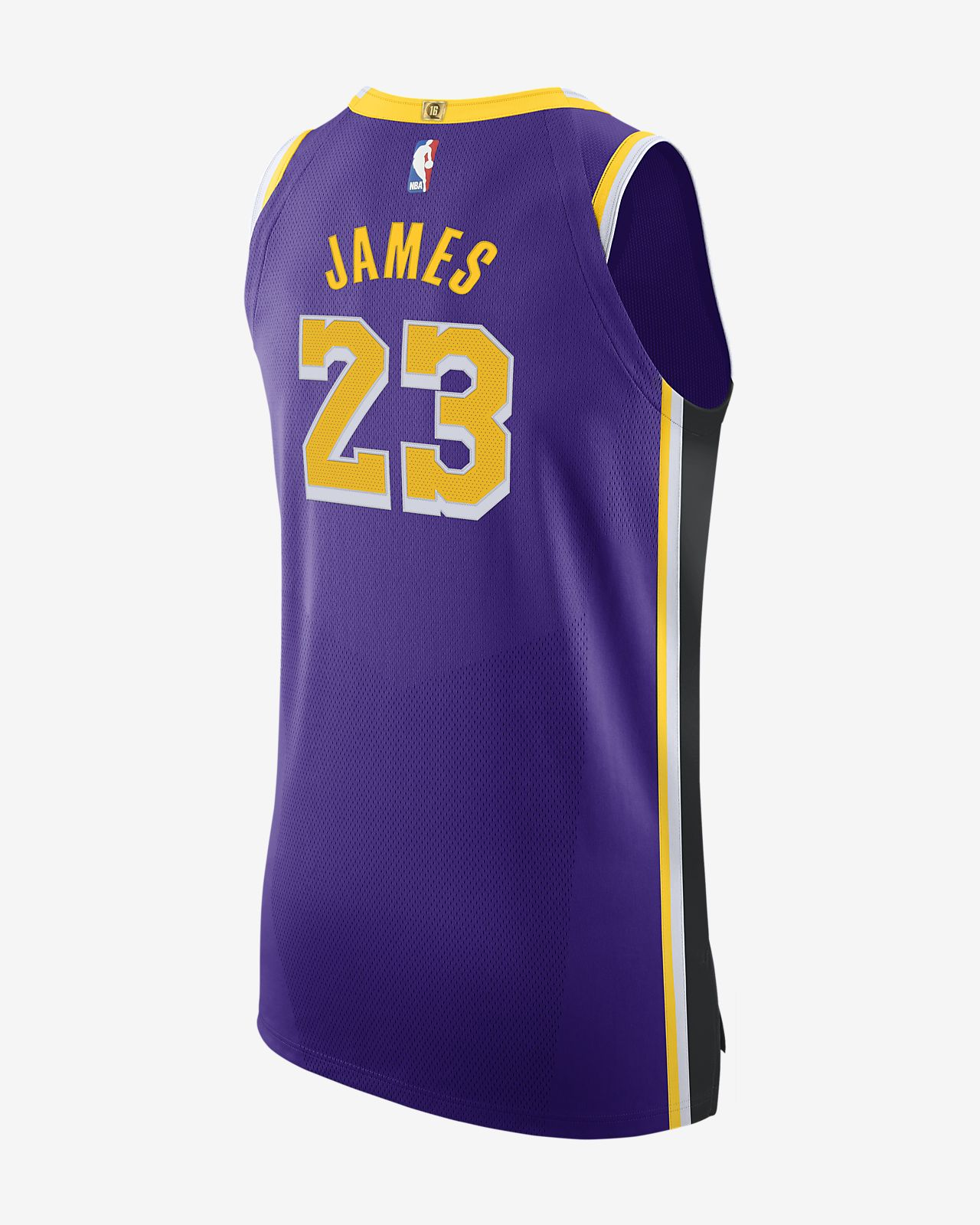 LeBron James Lakers Statement Edition Nike NBA Authentic Jersey