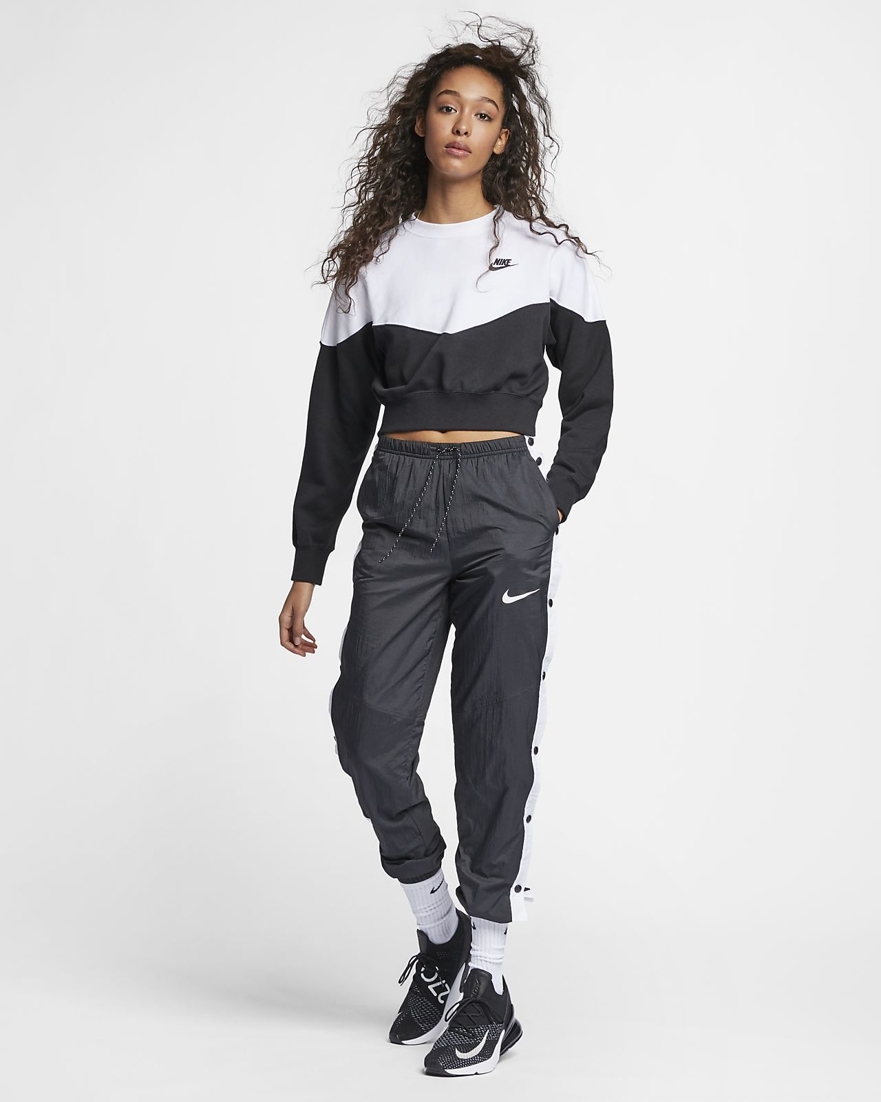 fdf609f8 Nike Sportswear Heritage Women's Fleece Crew. Nike.com DK