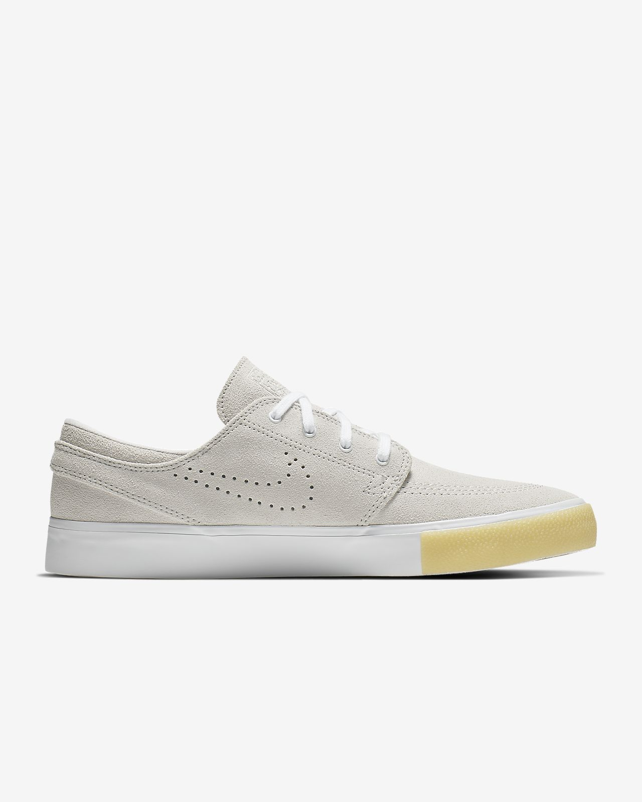Details about NEW Men's Size 9.5 Nike SB Zoom Stefan Janoski RM SE Low Top Shoes White Grey