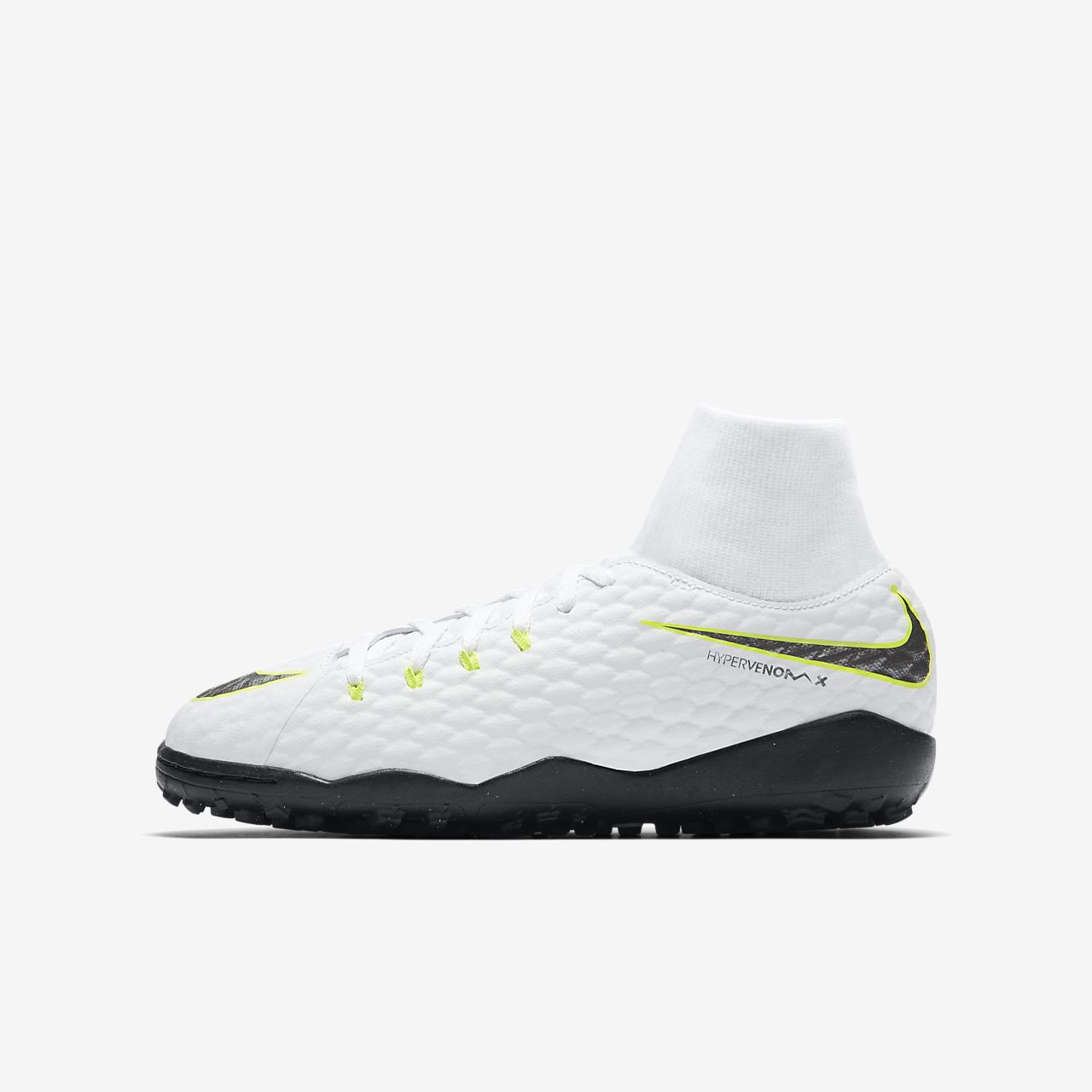 top quality size 40 another chance nike hypervenom tf alle weiß schuhe