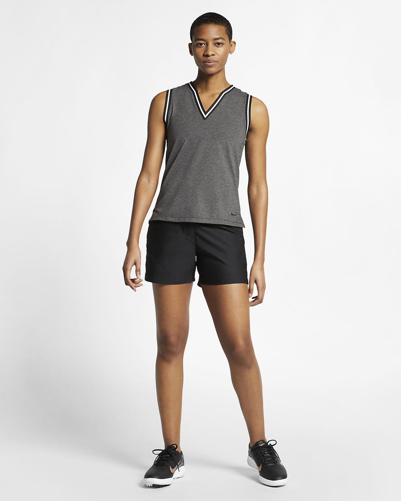 e36e5720d9e6 Γυναικεία αμάνικη μπλούζα πόλο για γκολφ Nike Dri-FIT. Nike.com GR