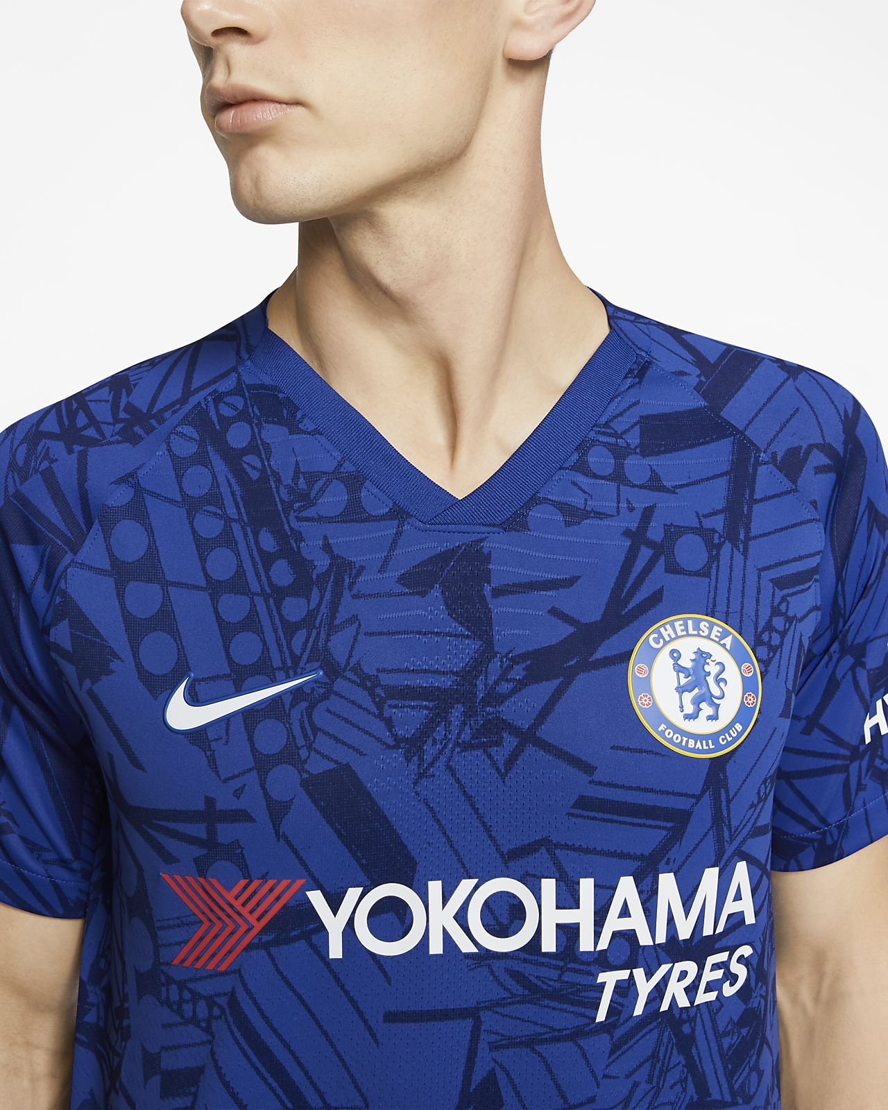 finest selection 31480 8e0ae Chelsea FC 2019/20 Vapor Match Home Men's Football Shirt
