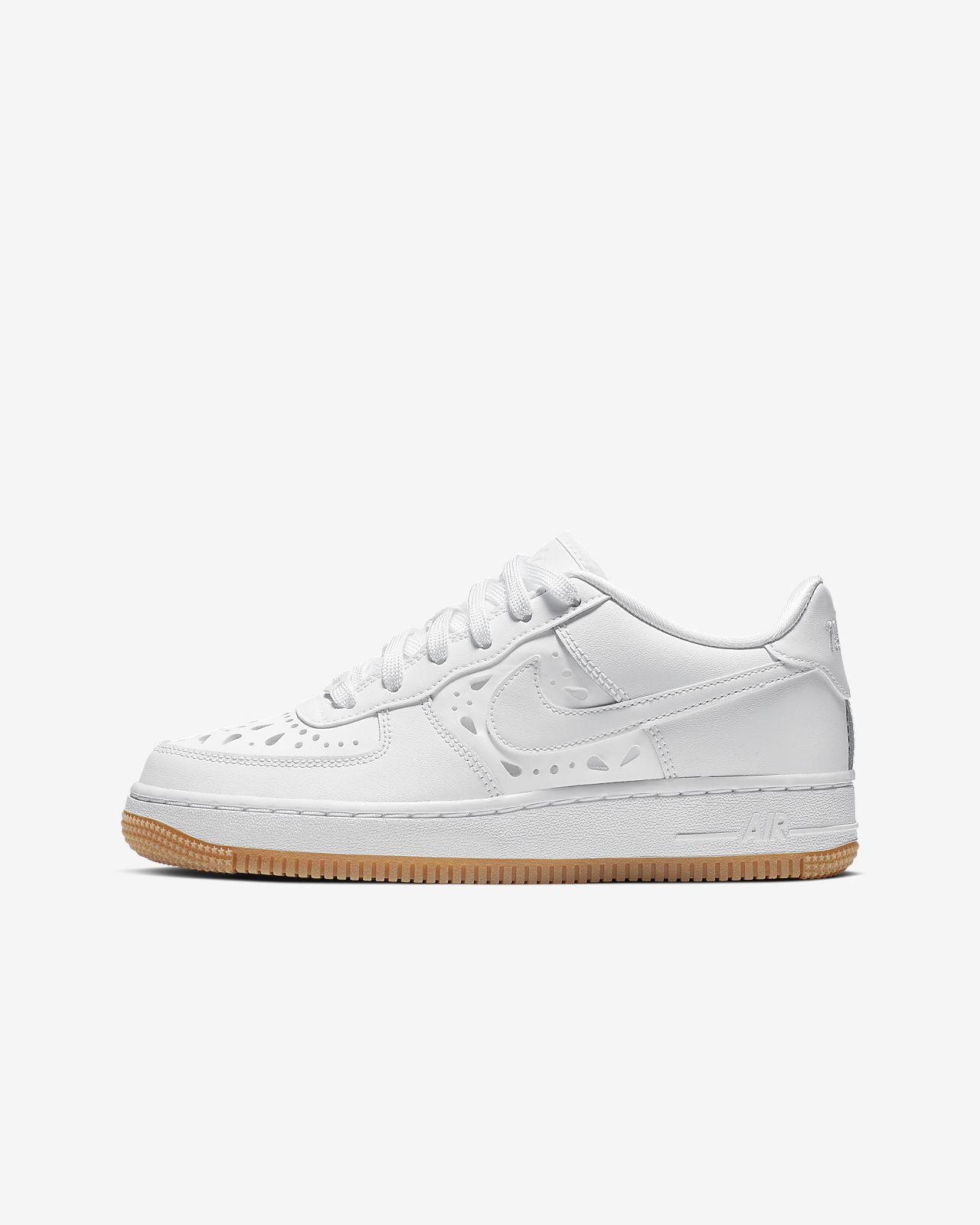 Nike Air Force 1 Floral Older Kids' Shoe