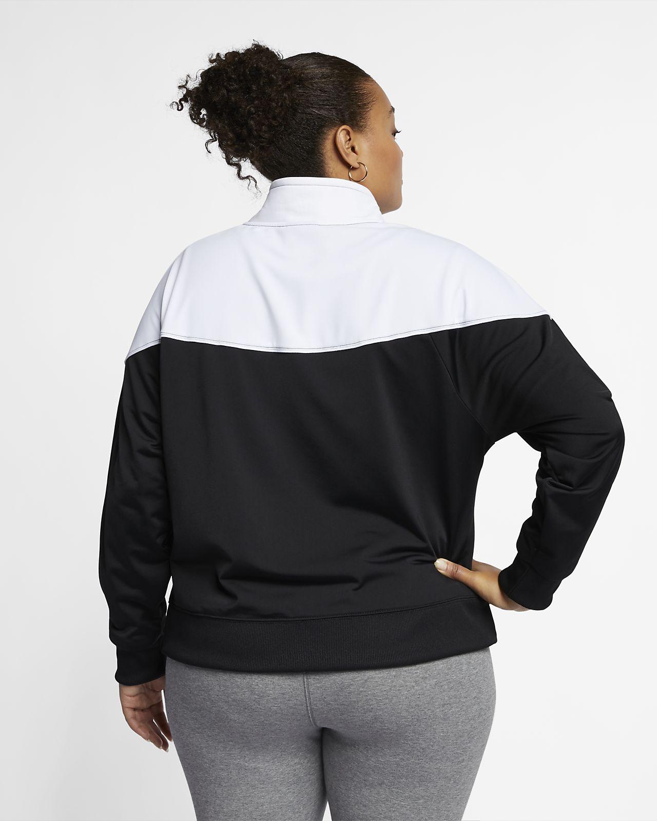 de0c547d5d ... Veste de survêtement Nike Sportswear Heritage pour Femme (grande taille)