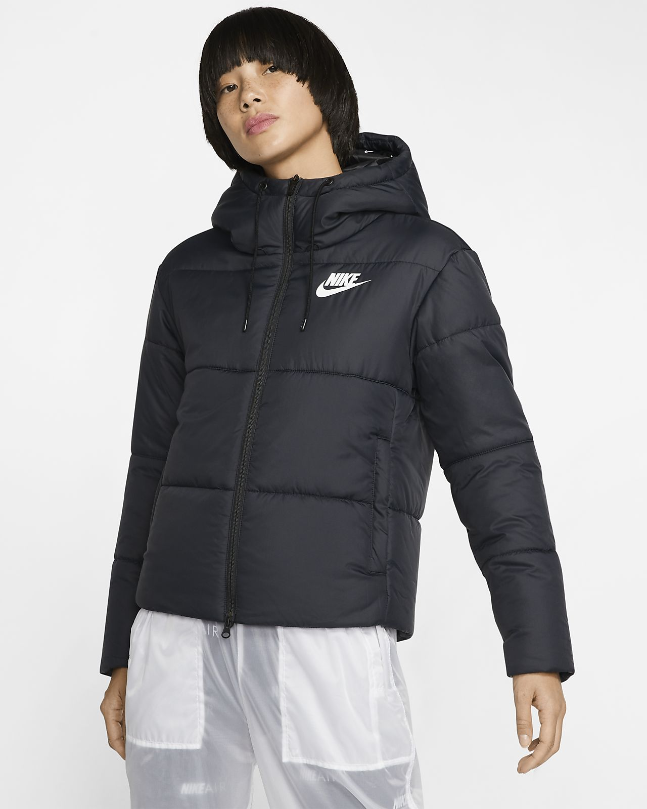 premium urval topp design 50% pris Jacka med huva Nike Sportswear Synthetic Fill för kvinnor. Nike SE