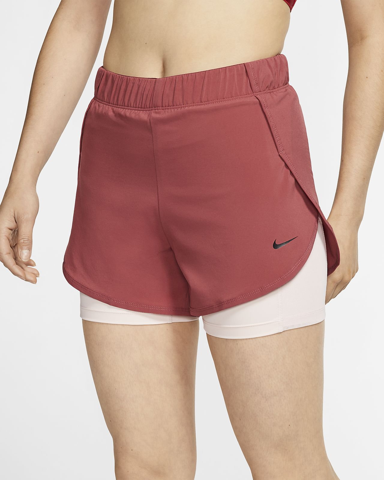 Nike Flex 2-in-1 Trainingsshorts voor dames