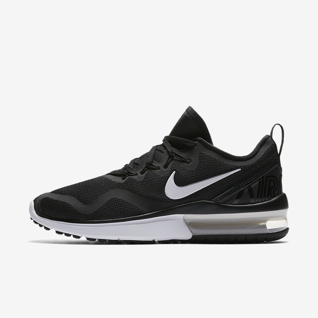 WMNS NIKE AIR MAX FURY BLACK WHITE AA5740-001 Womens running shoes