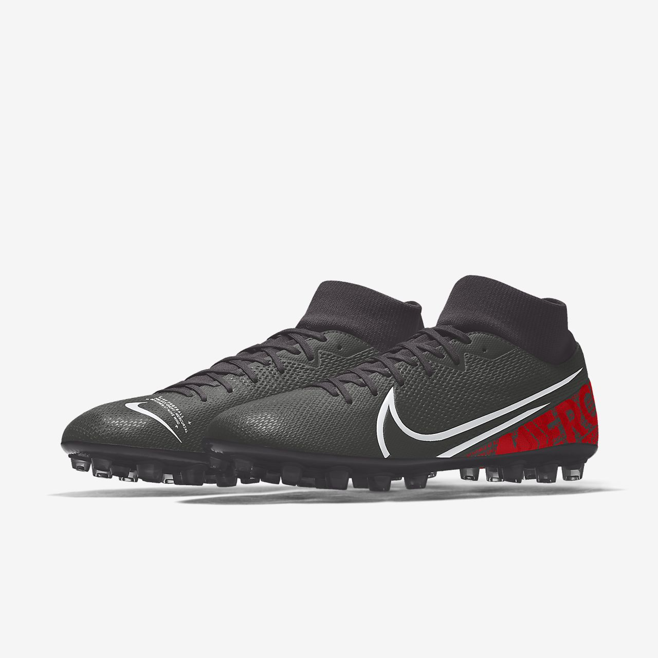 Nike Mercurial Superfly 7 Academy AG By You personalisierbarer Fußballschuh für Kunstrasen