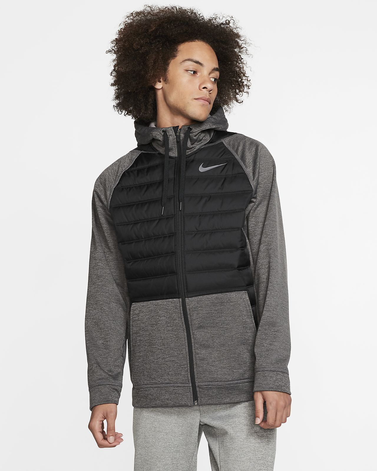 Nike Therma Men's Winterized Full-Zip Training Hoodie