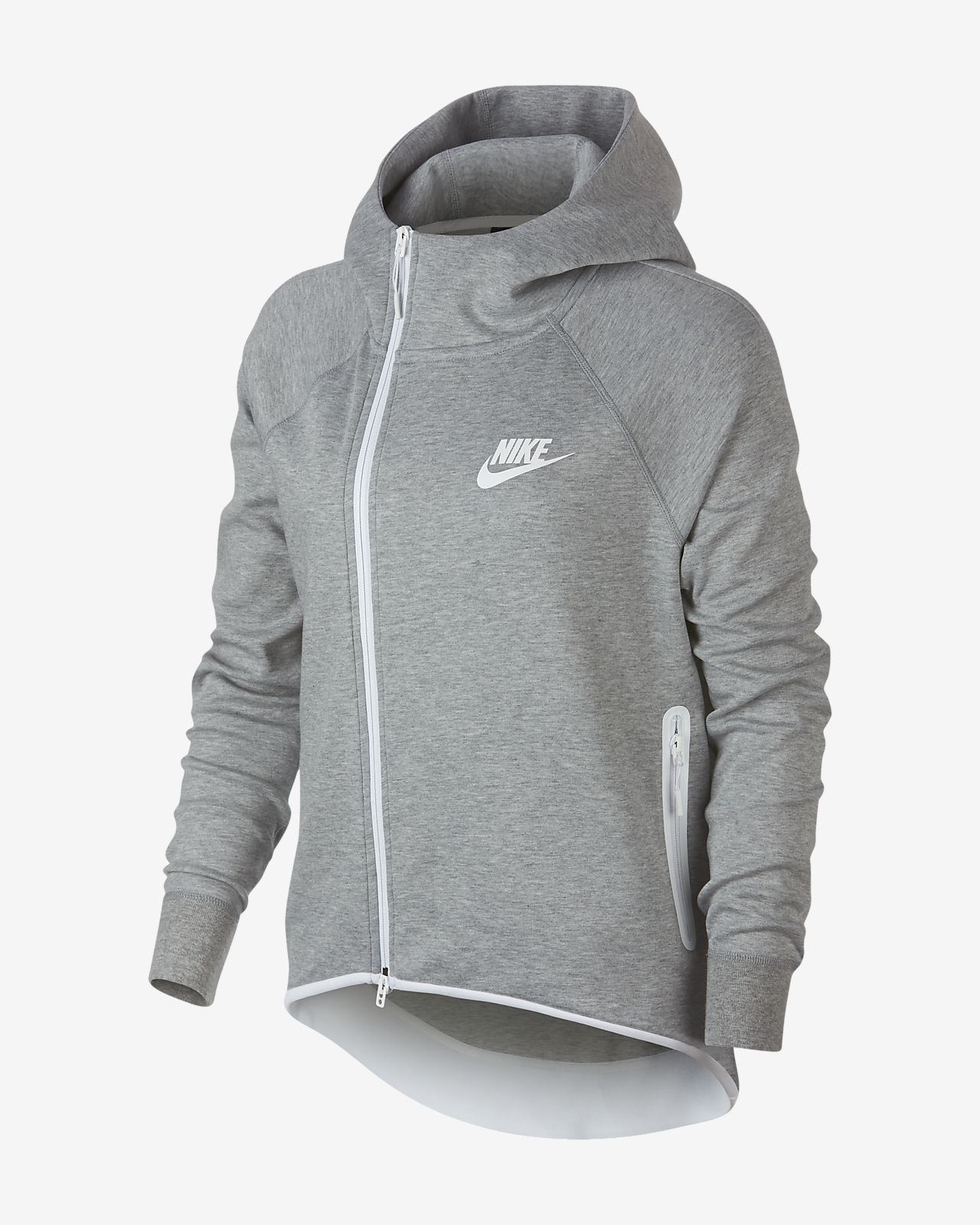 Nike Sportswear Tech Fleece Damen Poncho mit durchgehendem Reißverschluss