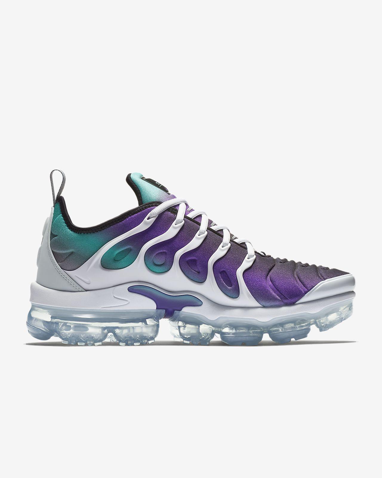 0b61ec9944ecd Nike Air Vapormax Plus TM Silver Men s Running Shoes
