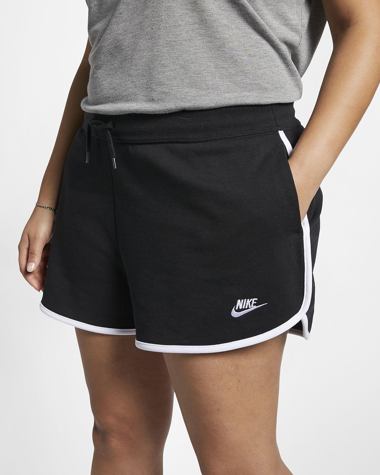 Nike Sportswear Heritage Women's Fleece Shorts (Plus Size)