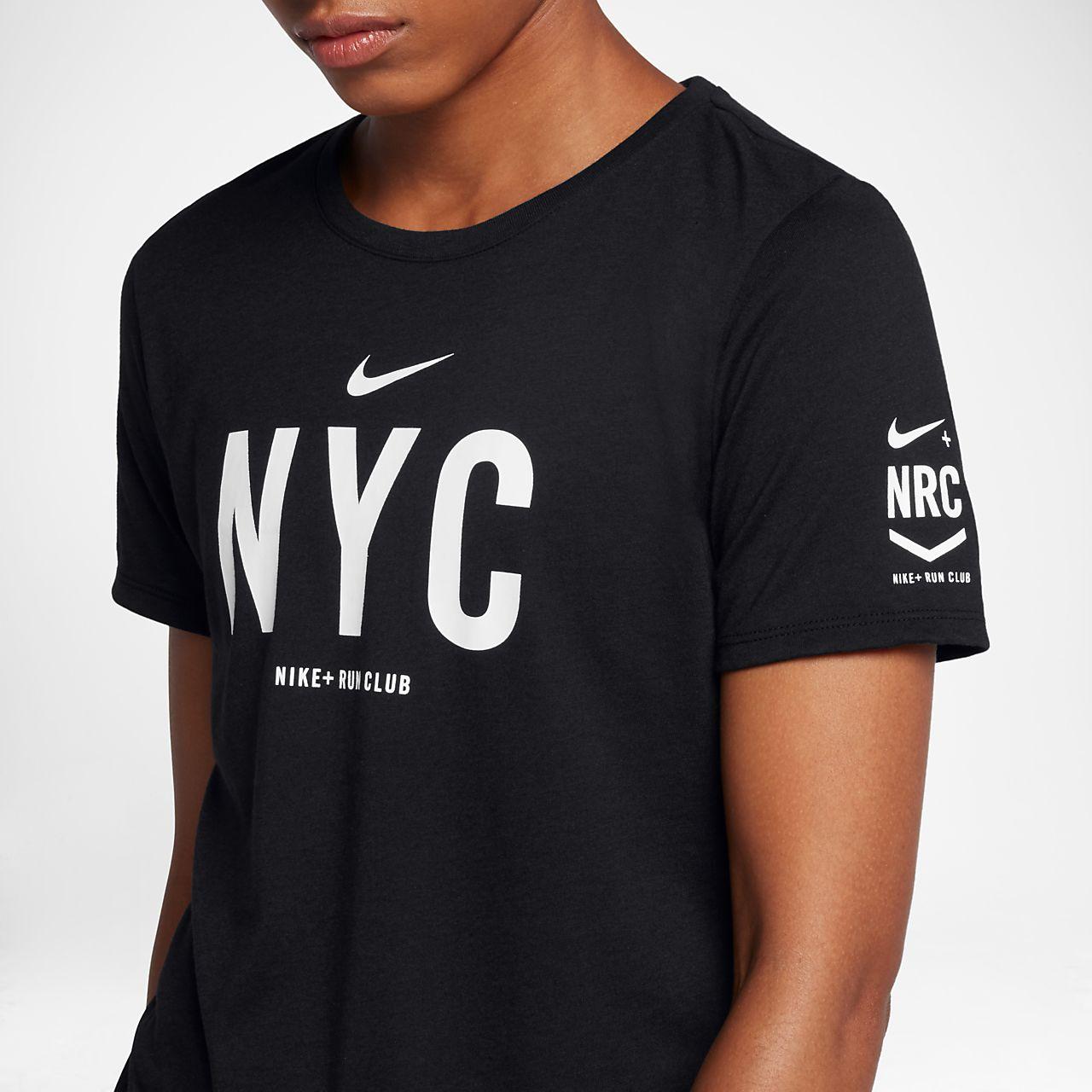 Nike Dri Fit Nrc Nyc Women 39 S Running T Shirt Hr