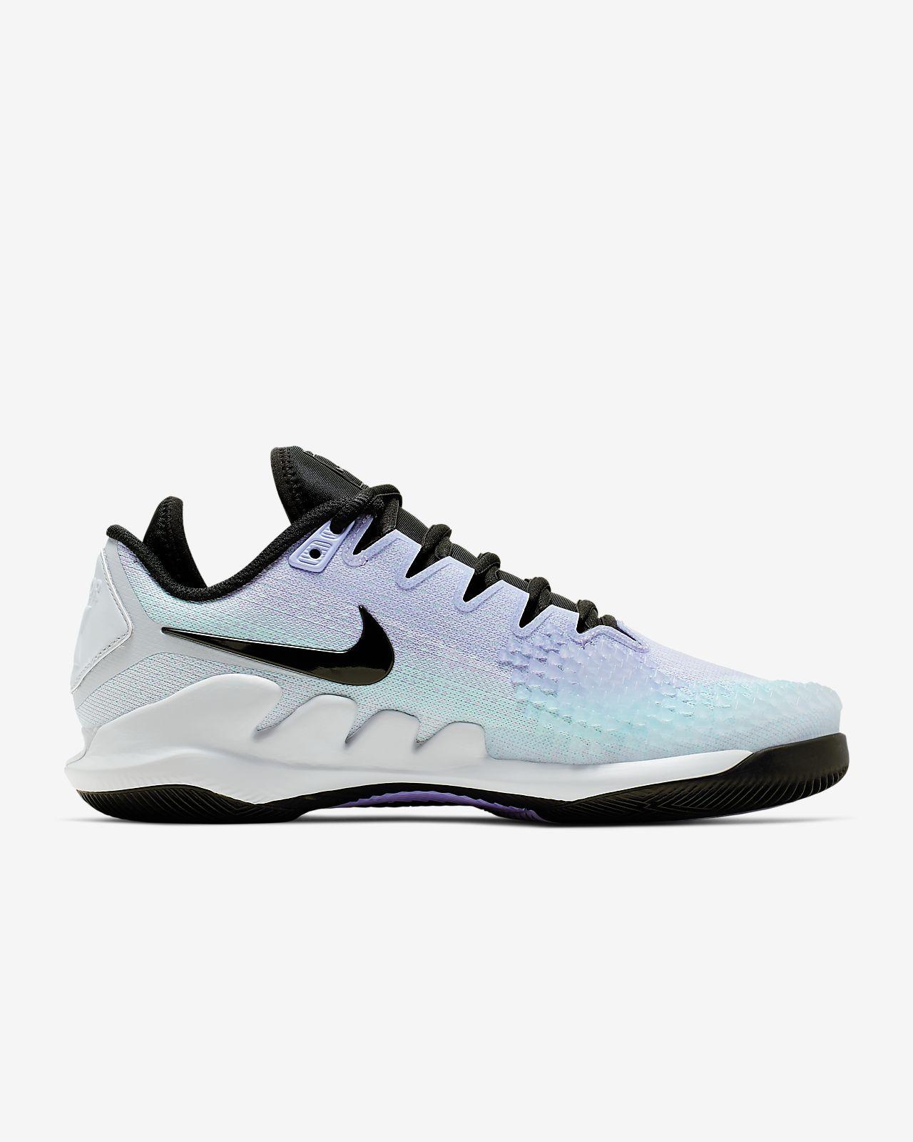 NikeCourt Air Zoom Vapor X Knit Zapatillas de tenis de pista rápida Mujer