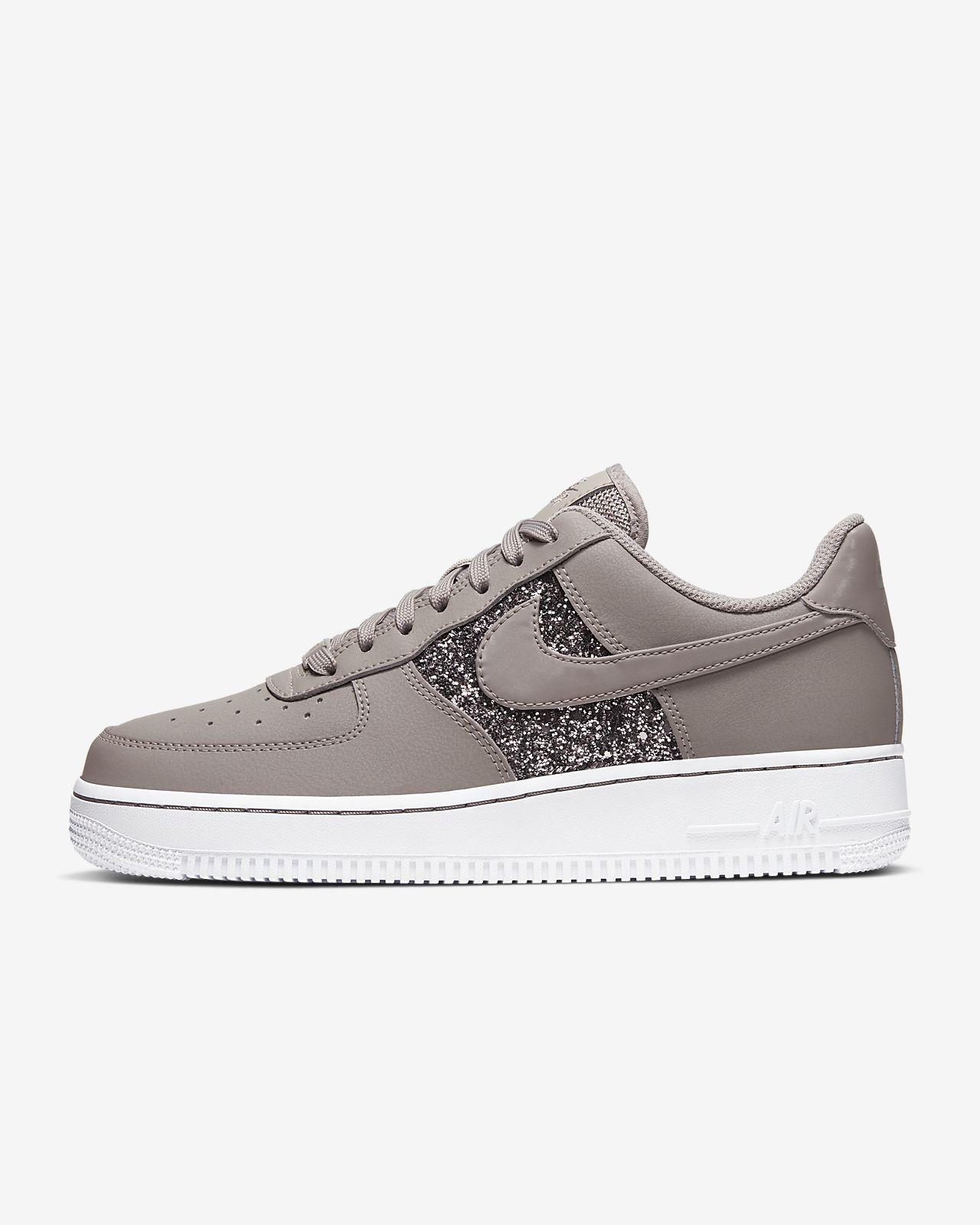 Damskie połyskujące buty Nike Air Force 1 Low