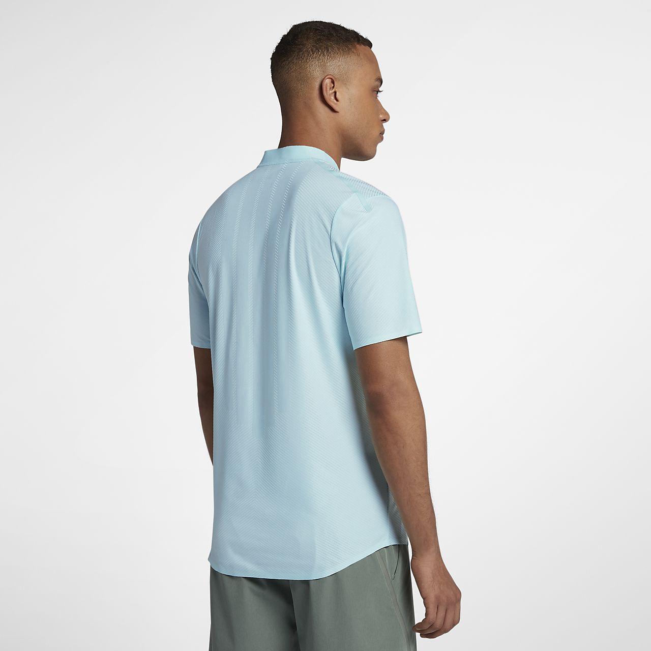 Nike - Court Zonal Cooling Advantage Hommes Tennis Polo (vert) - XL KTte5Un