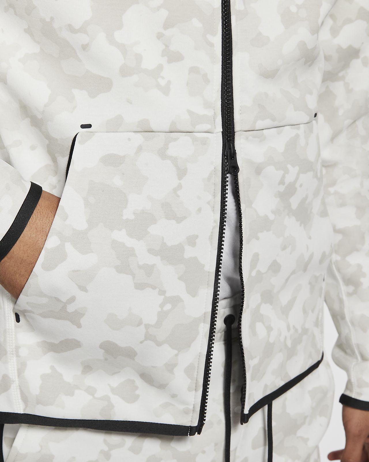 Nike Sportswear Tech Fleece Men's Full Zip Printed Hoodie