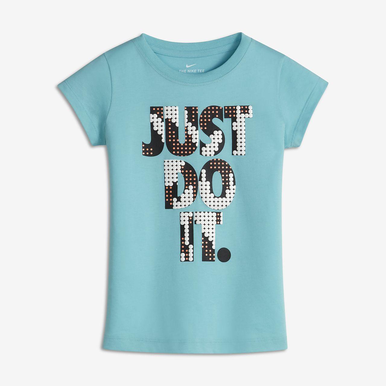 nike just do it little kids girls tshirt nikecom