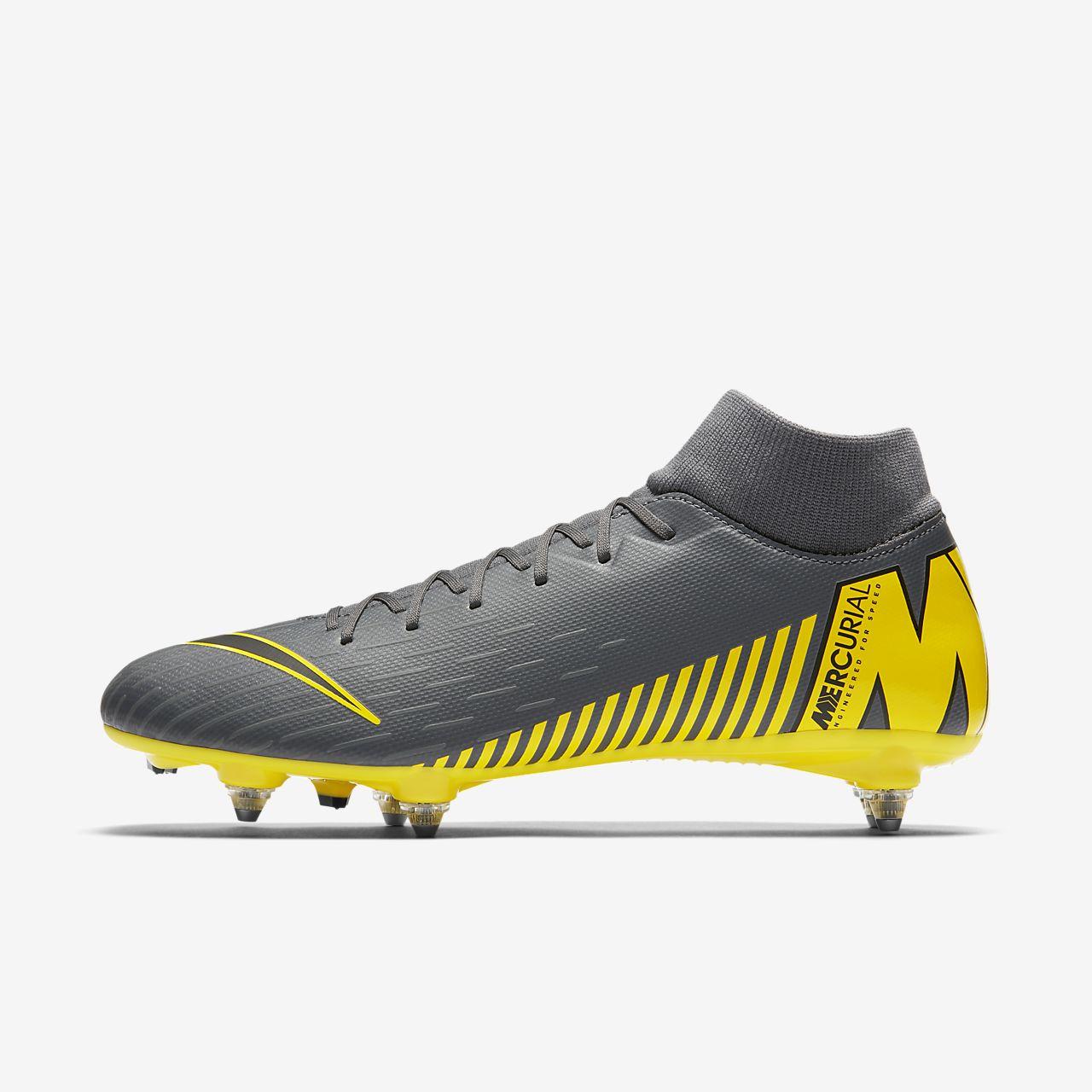 brand new 50e23 b475a ... Chaussure de football à crampons pour terrain gras Nike Mercurial  Superfly VI Academy SG-PRO