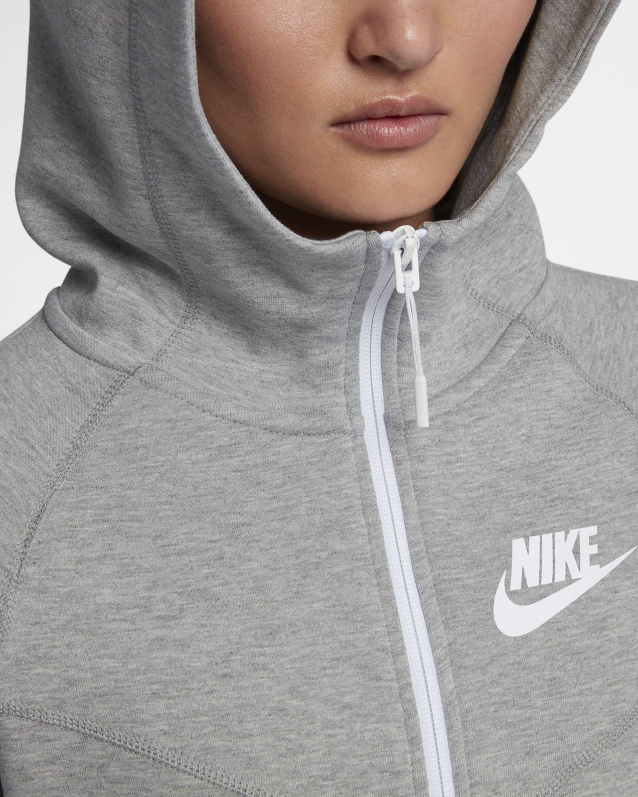 Felpa con cappuccio e zip a tutta lunghezza Nike Sportswear Tech Fleece Windrunner Donna