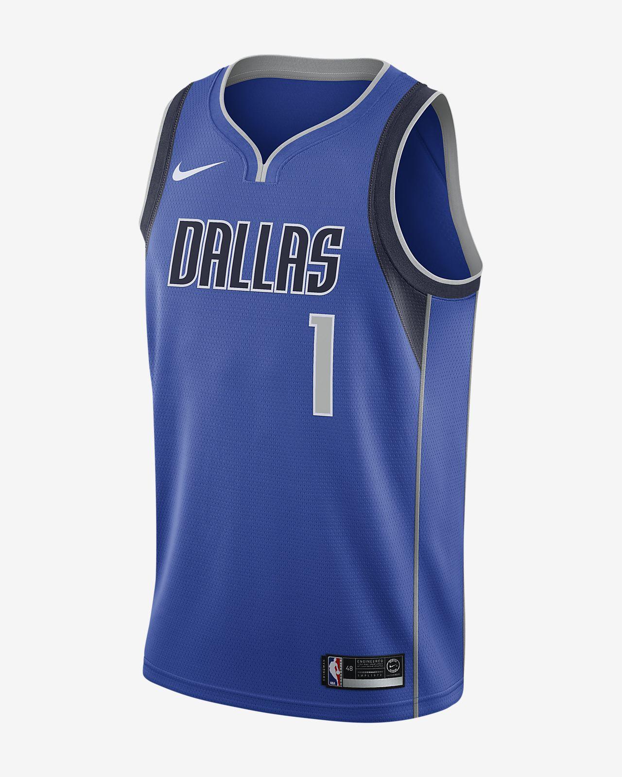 3787d02a5e3 nba reversible jerseys  dennis smith jr. icon edition swingman (dallas  mavericks) mens nike nba connected jersey